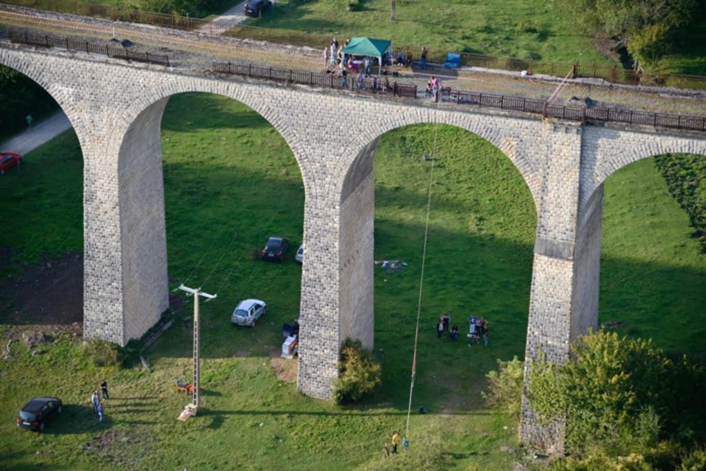 Adrenaline Elastique au Viaduc d'Exermont - Exermont