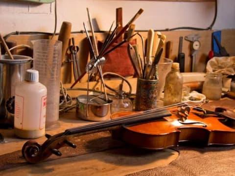 Le violon & la lutherie