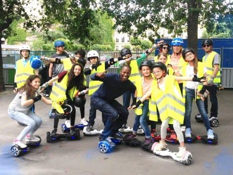 Hoverboard Tour sur les quais de Paris
