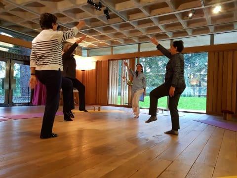 Cours découverte du Nadi Yoga au cœur de la nature à Paris