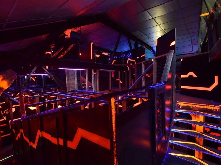 Labyrinthe Laser Game