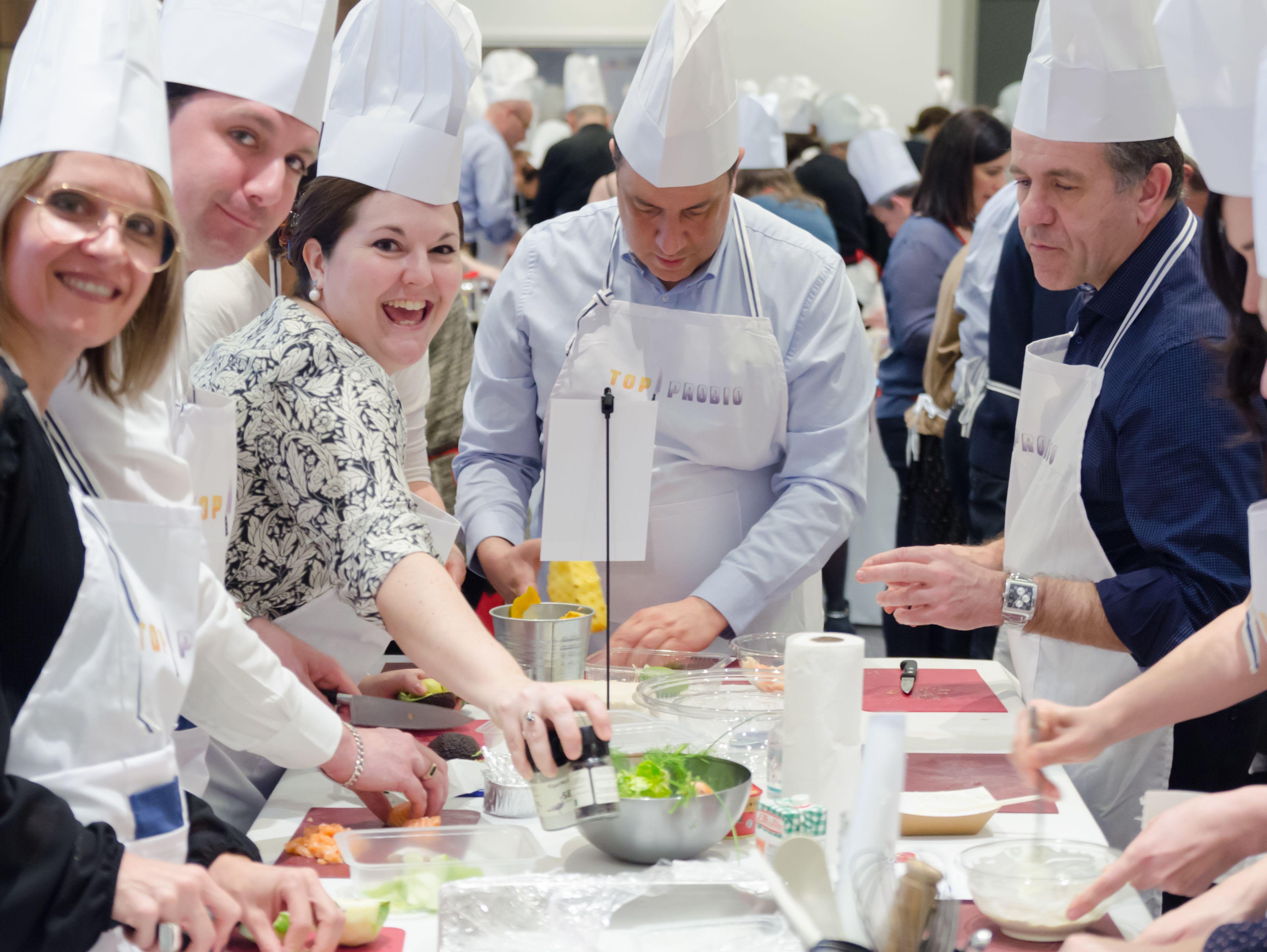 team building cuisine