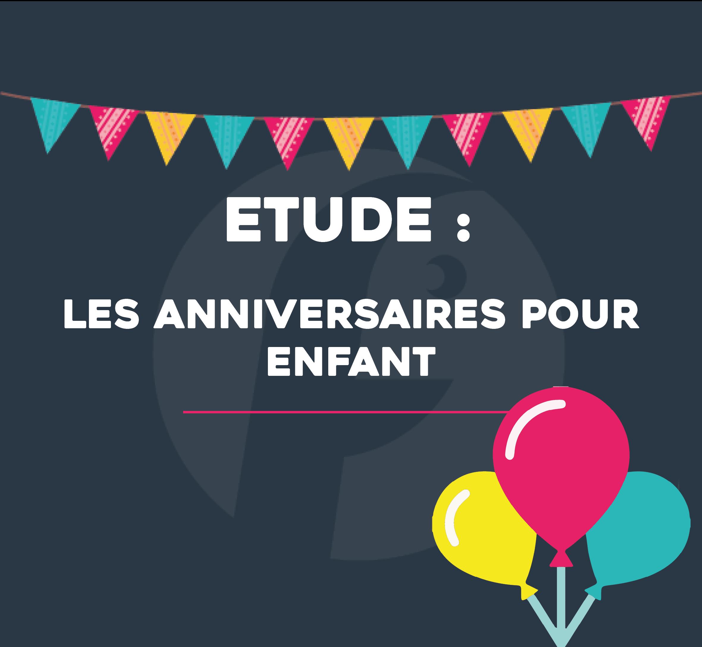 anniversaires enfant études français