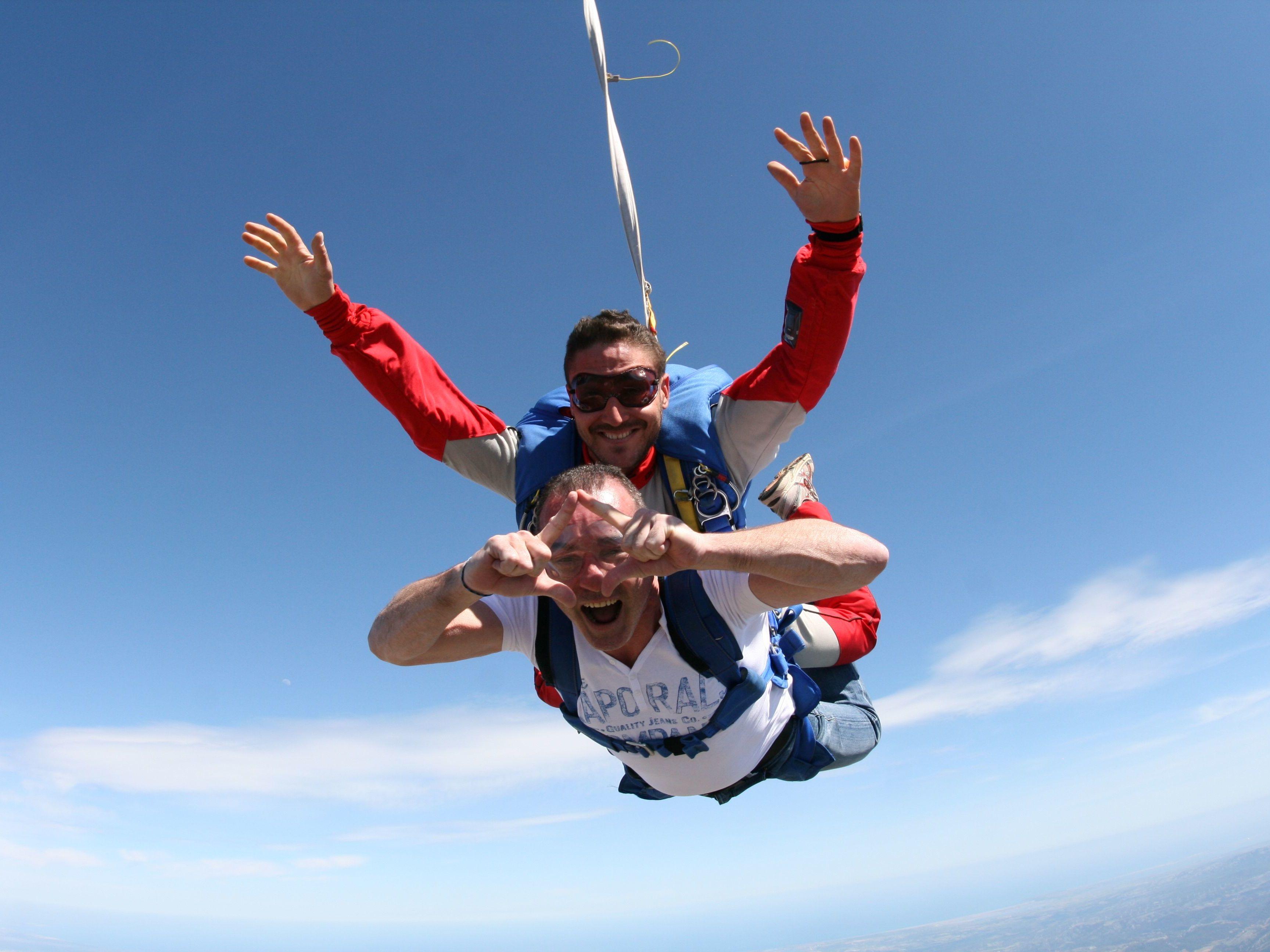 saut en parachute valence
