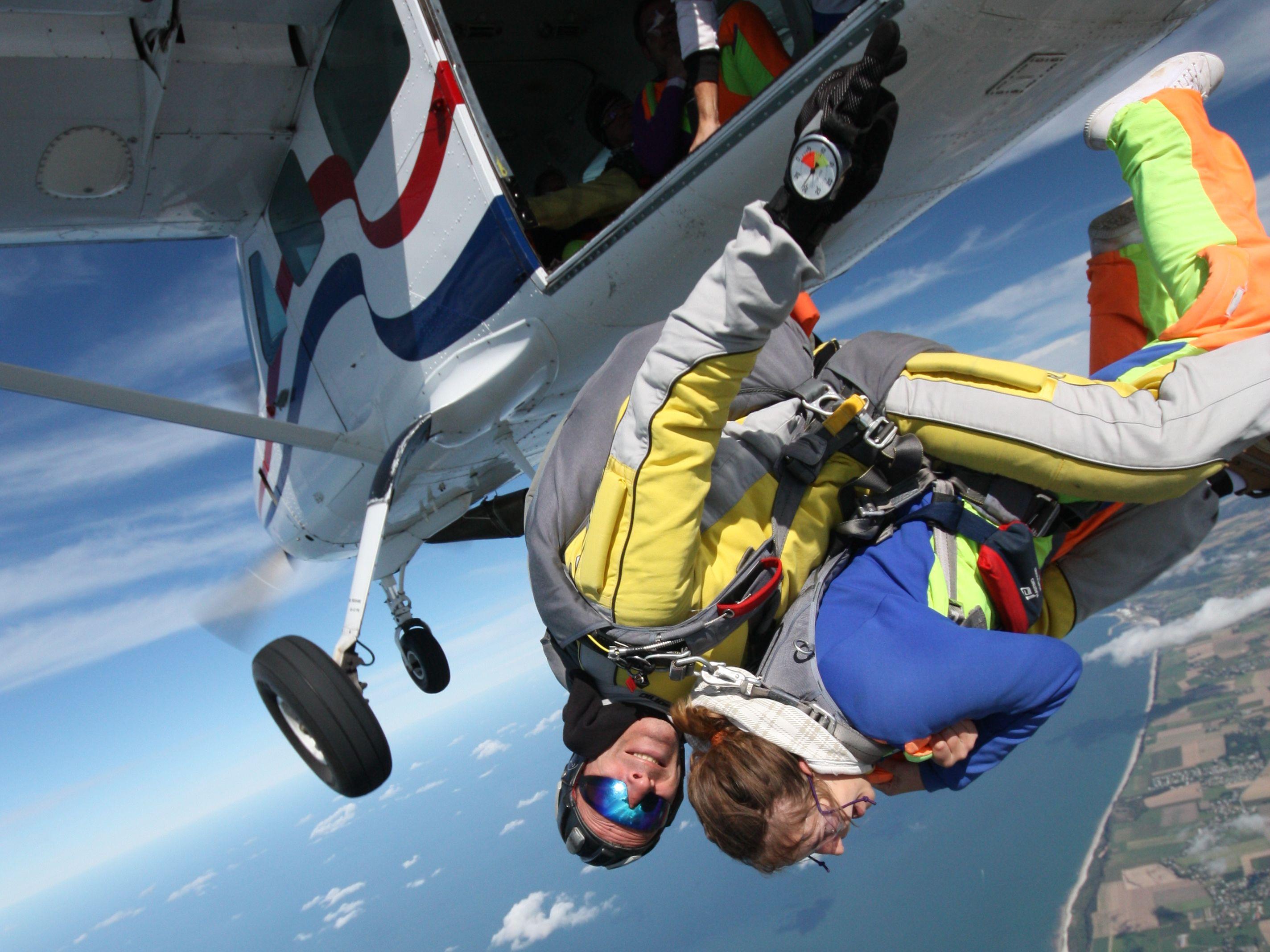 parachutisme honfleur