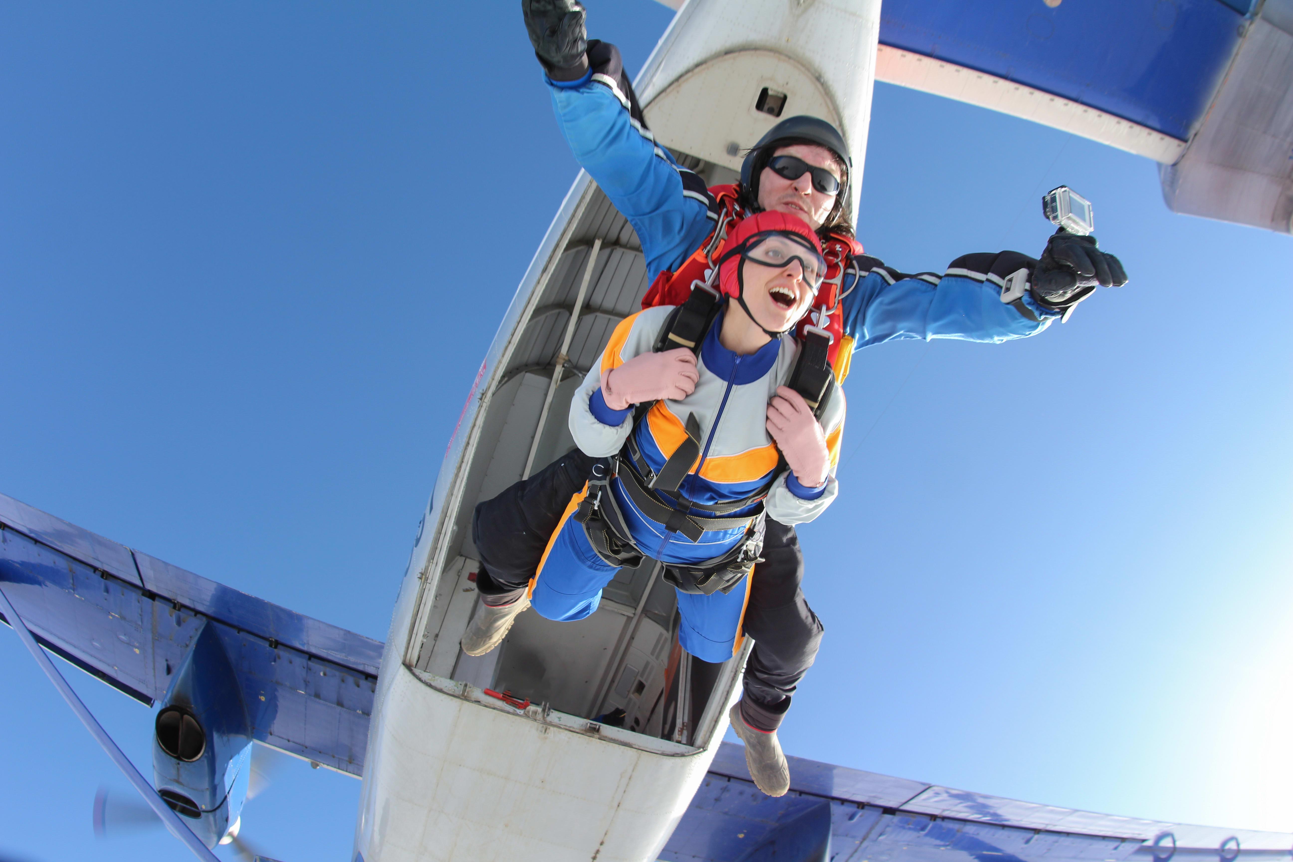 saut en parachute- guide