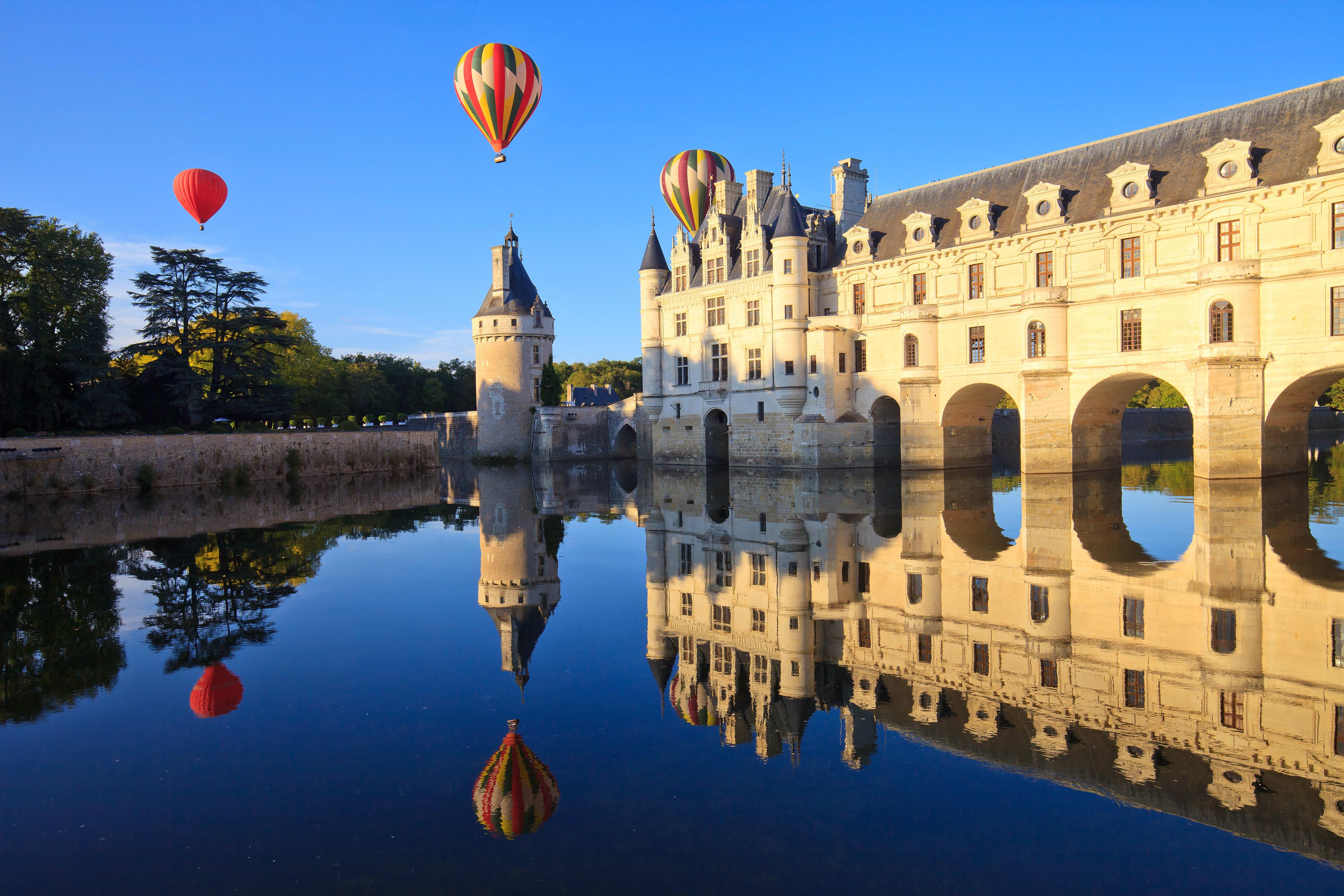 montgolfiere chateau de la loire