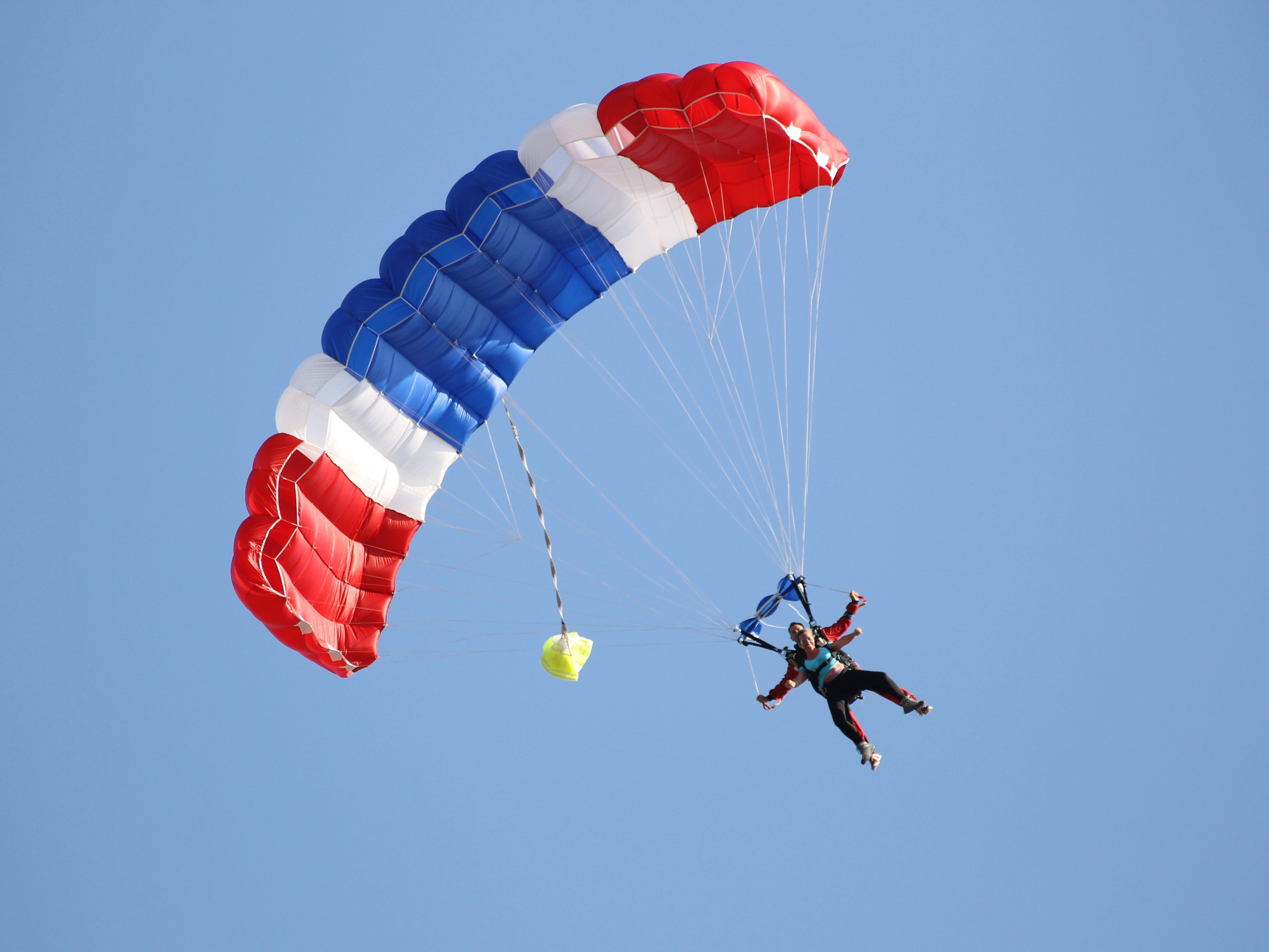 Forme d'un parachute