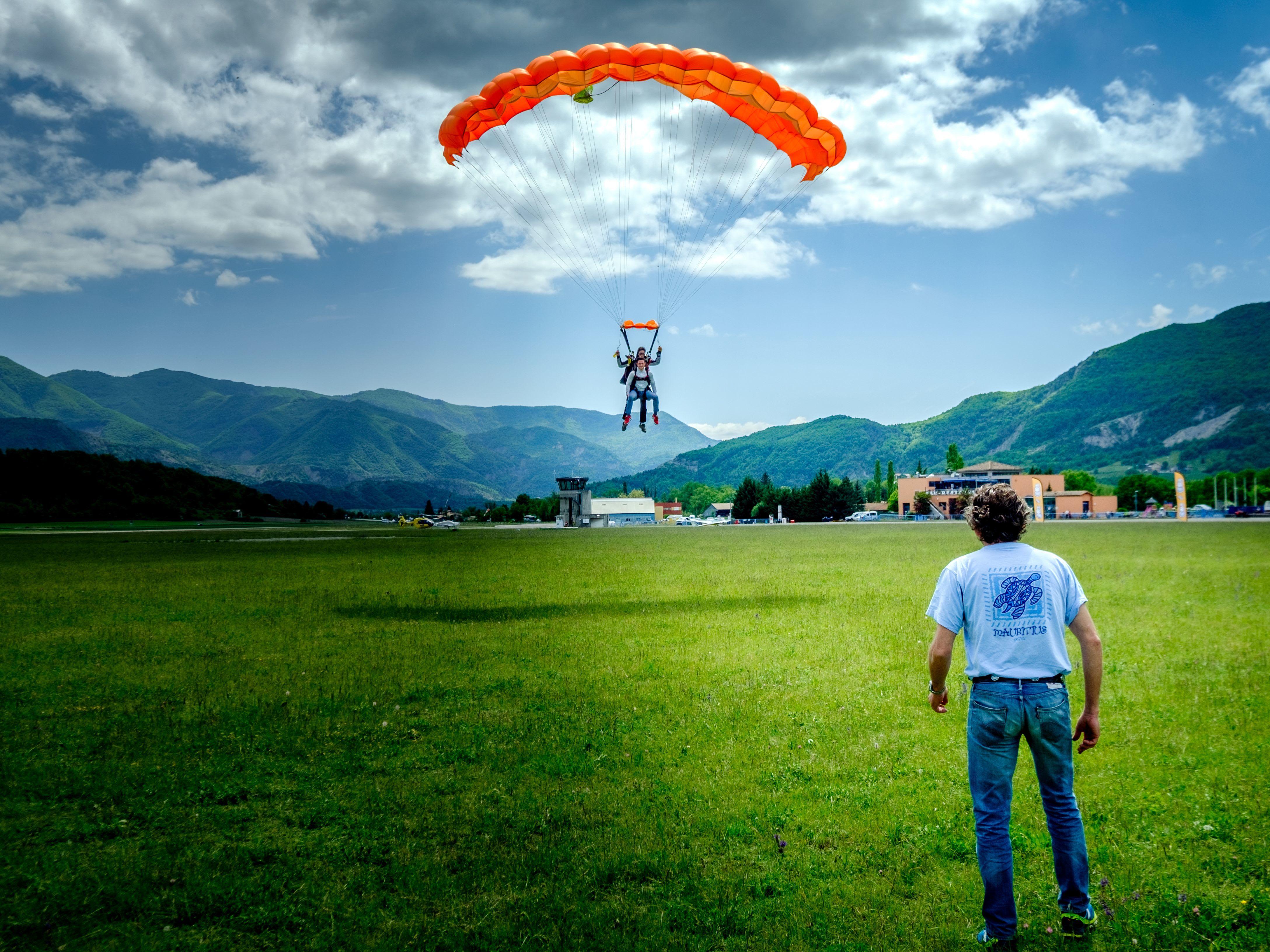 parachute-parapente