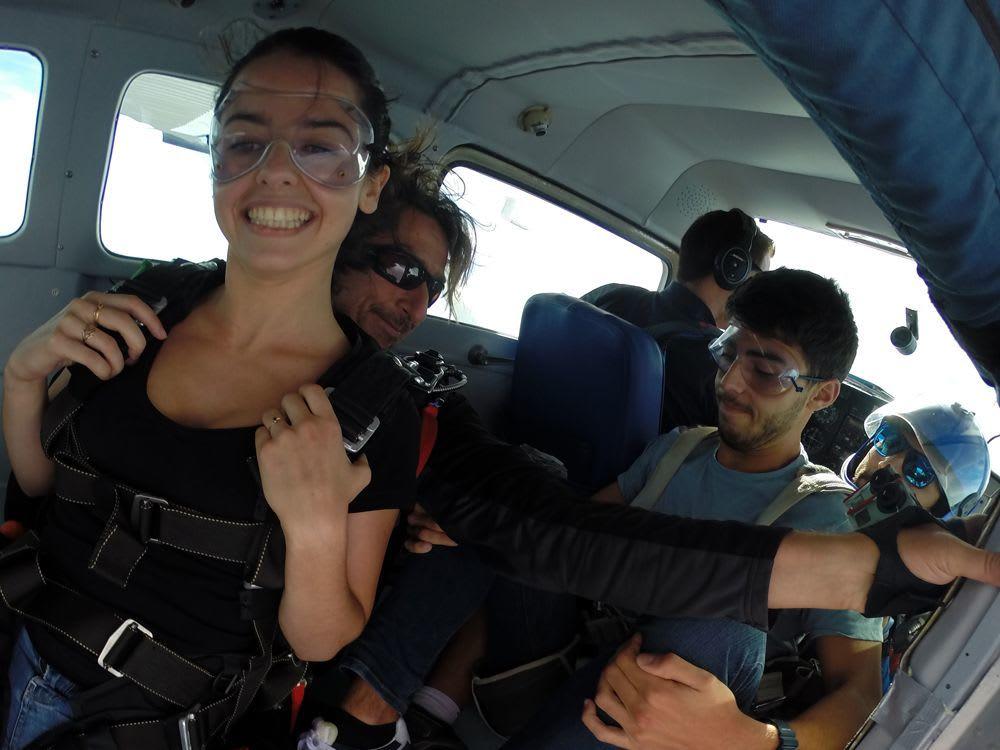 Vaincre sa peur saut en parachute