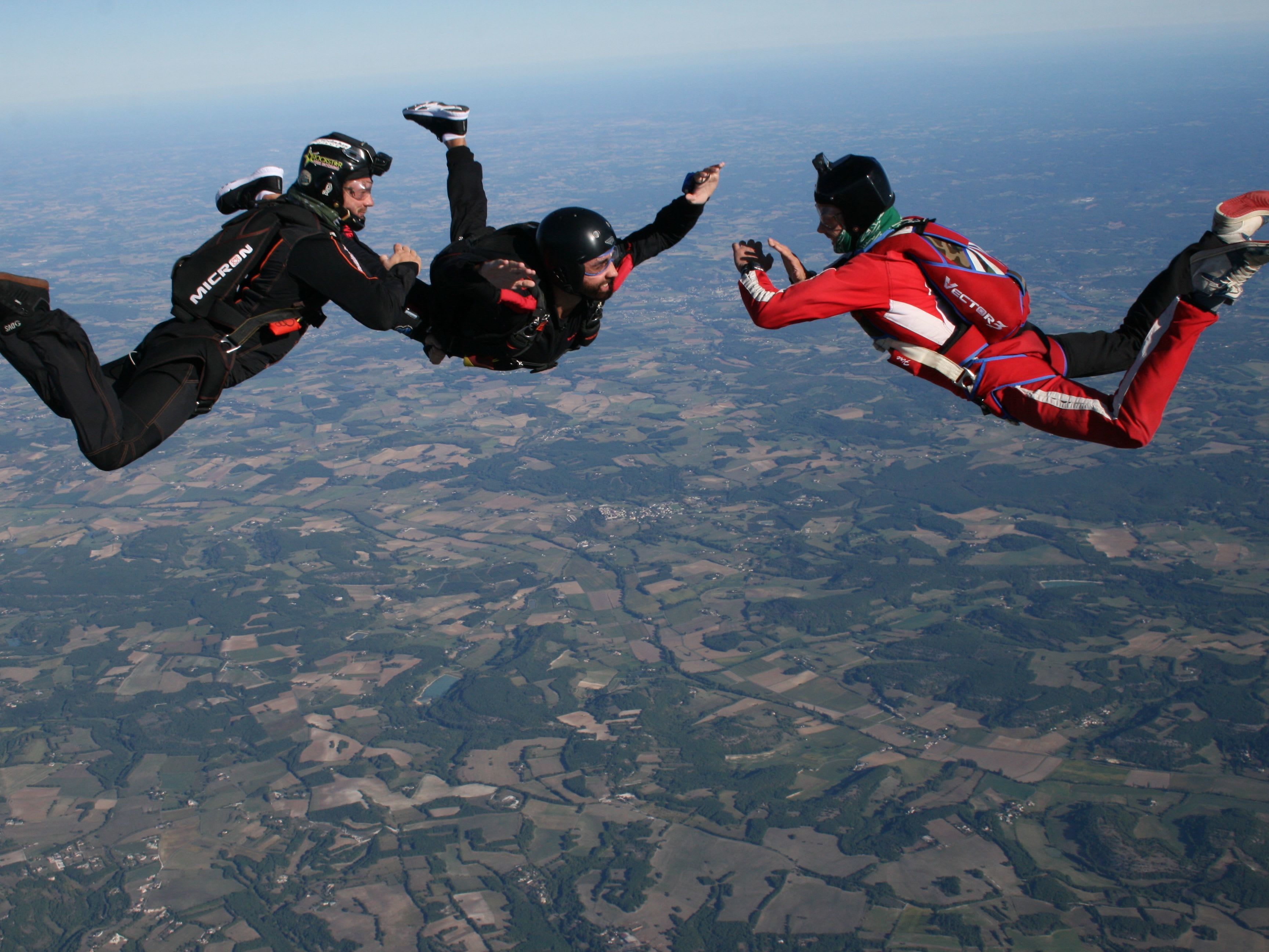 Sauter en parachute seul