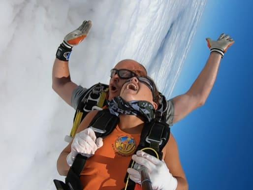 Durée d'un saut en parachute