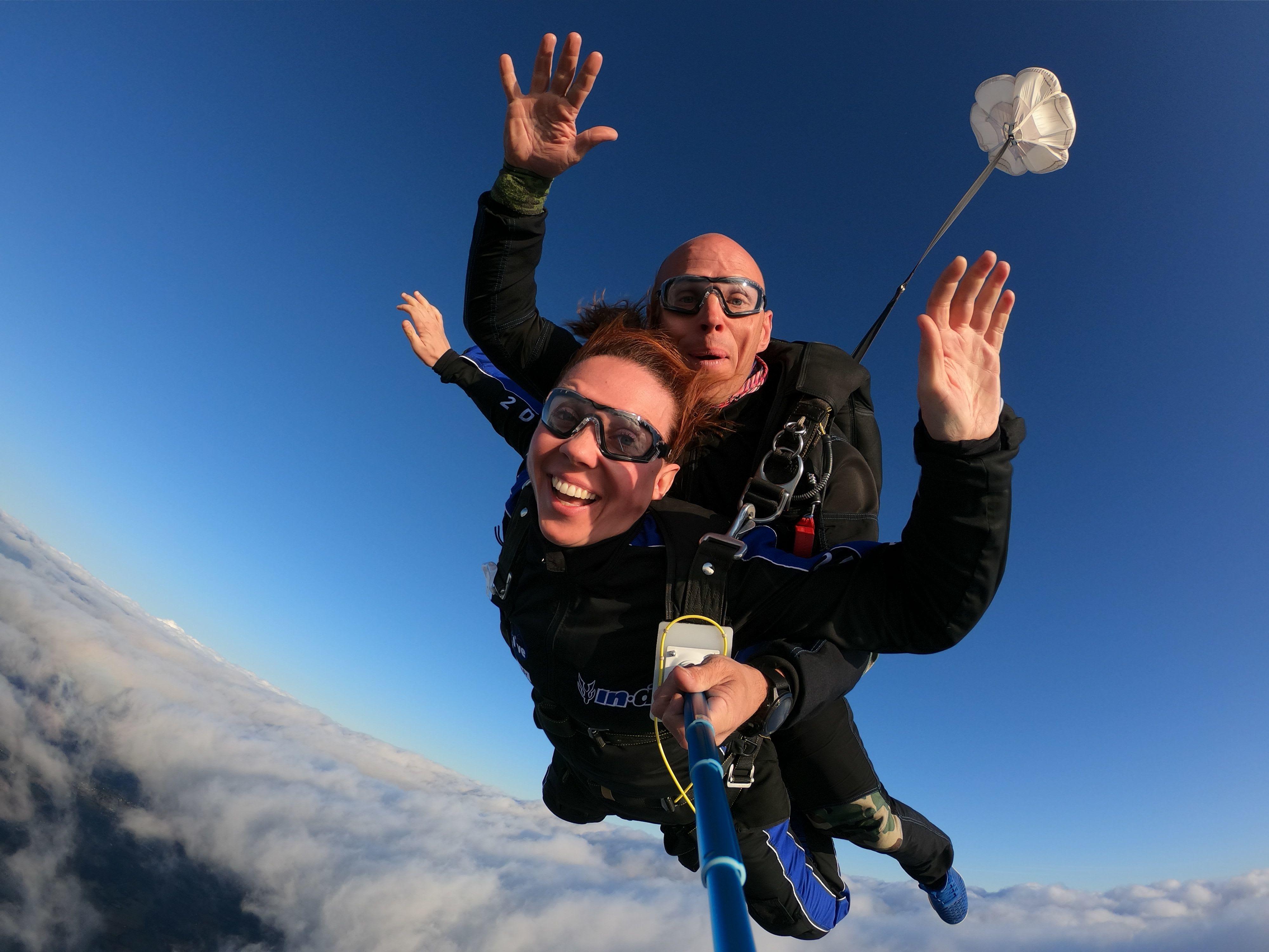 Choisir son saut en parachute