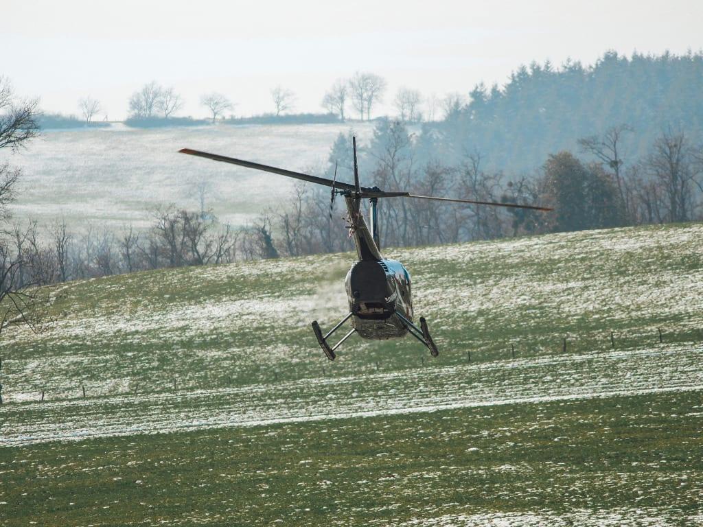Helicoptère météo