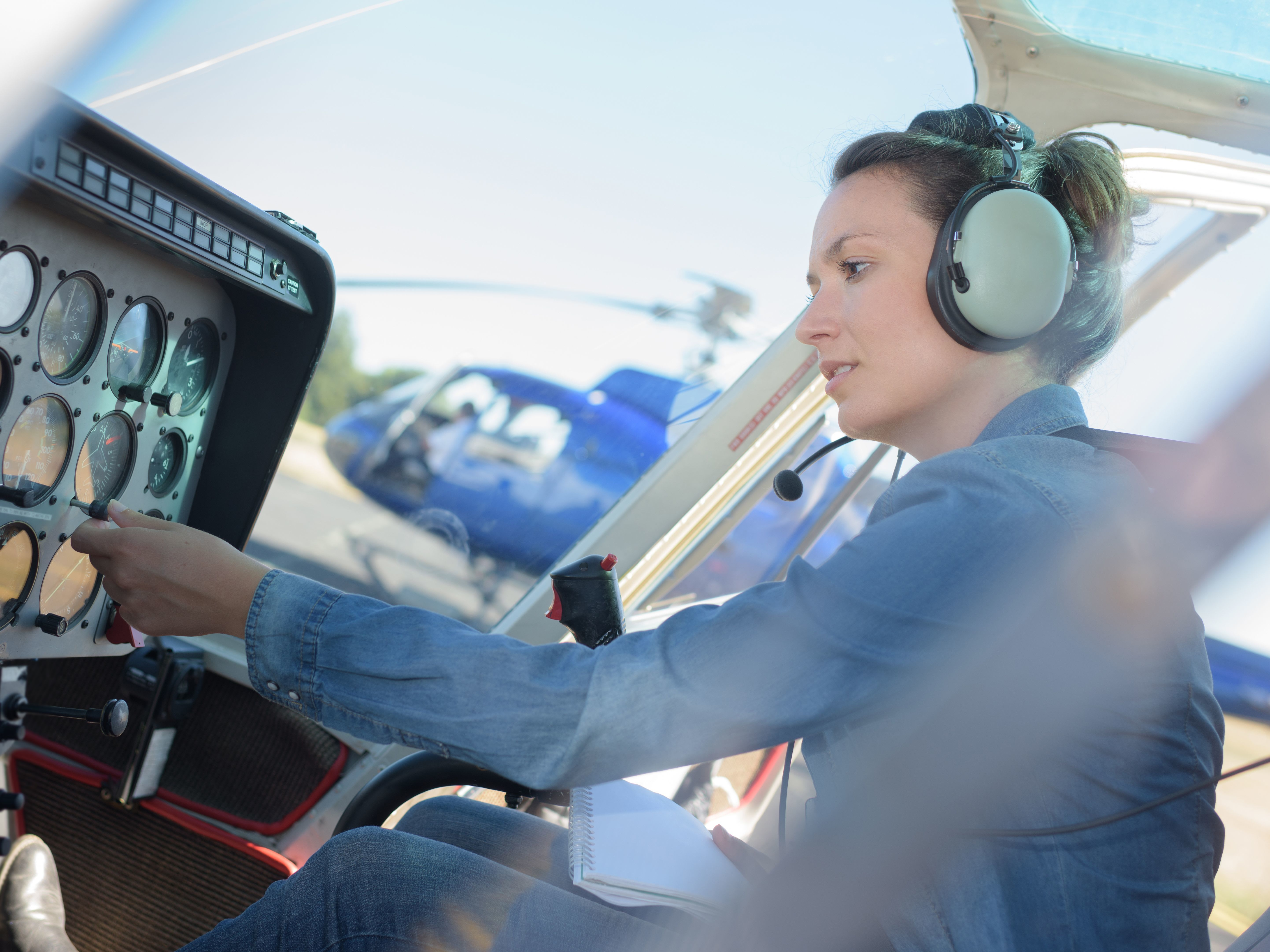 Bruit dans un hélicoptère