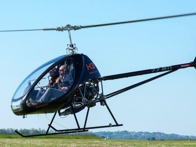 Fonctionnement d'un hélicoptère