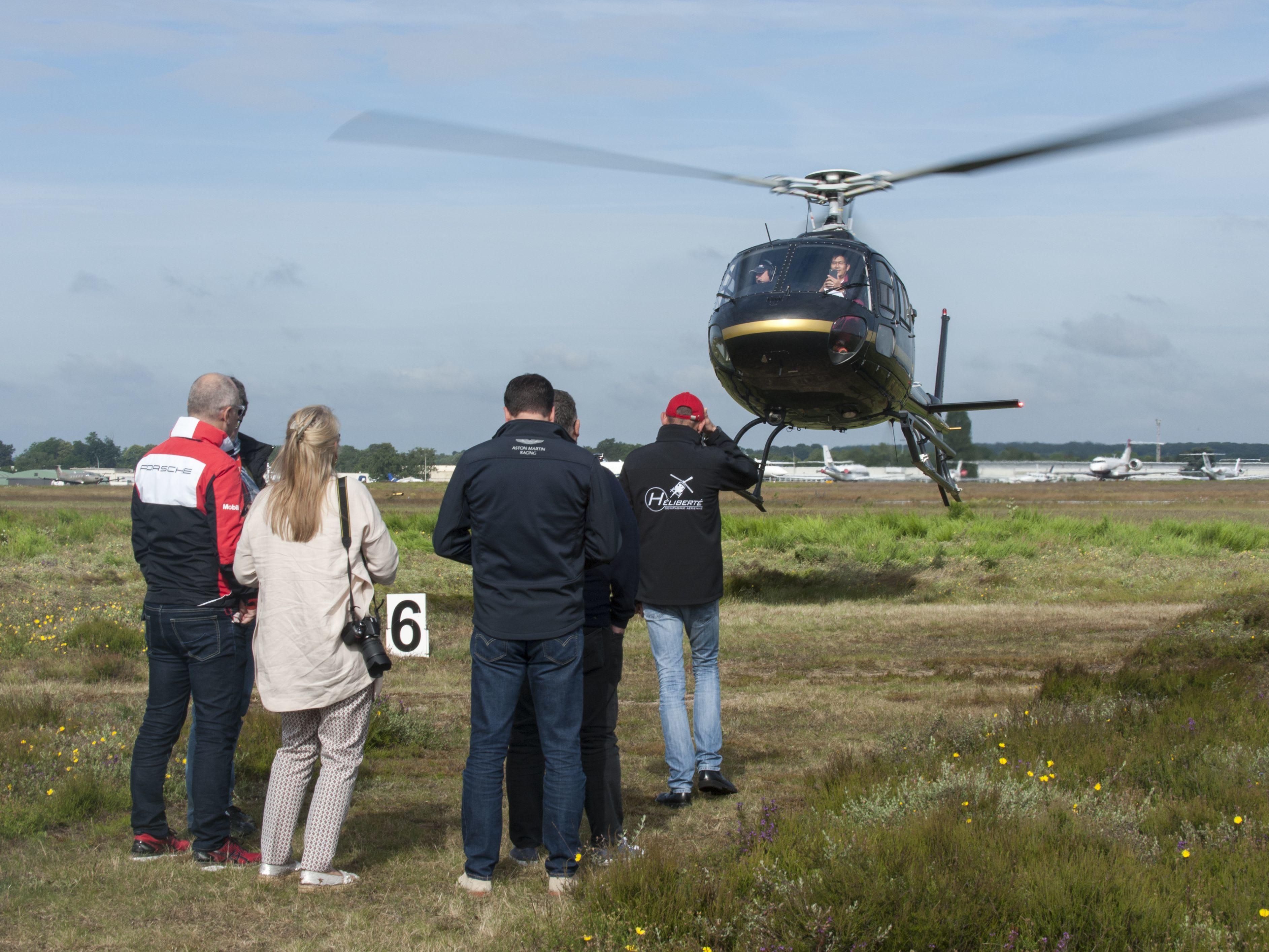 Capacité d'accueil dans un hélicoptère