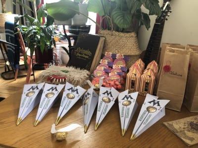 éléments de décoration pour un anniversaire Harry Potter