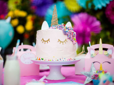 gateau d'anniversaire licorne