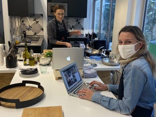 team building cuisine à distance