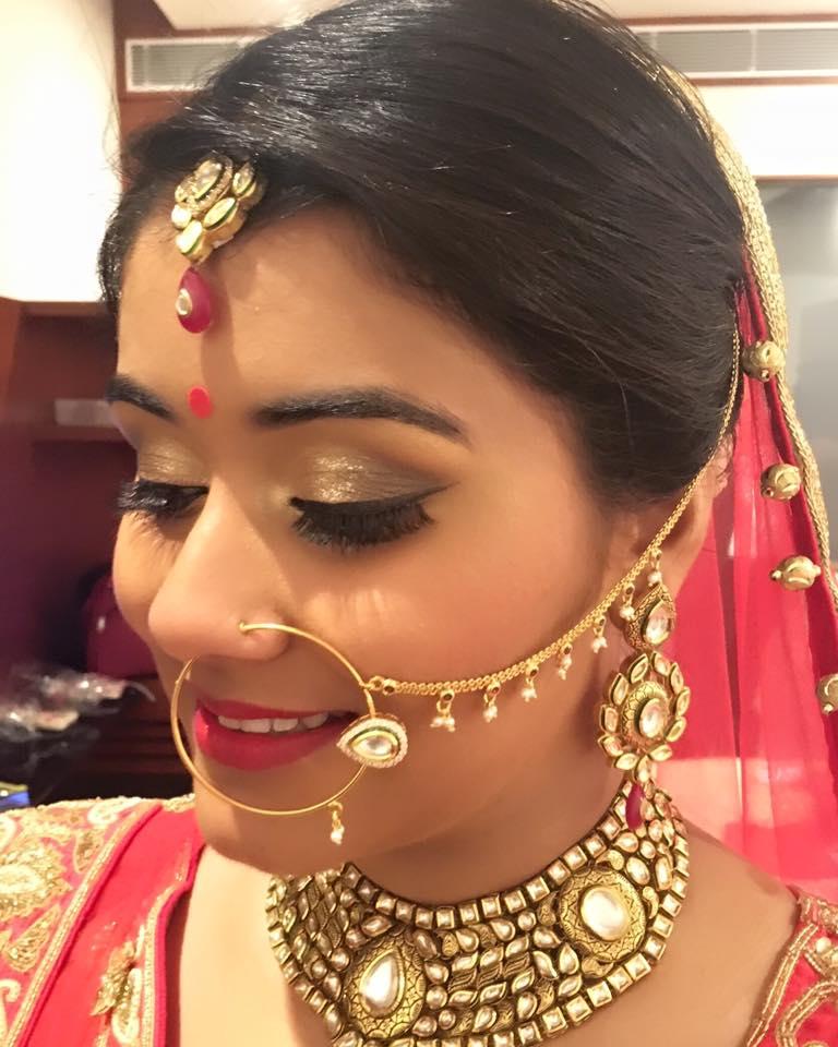 Vanshika Chawla Make Up