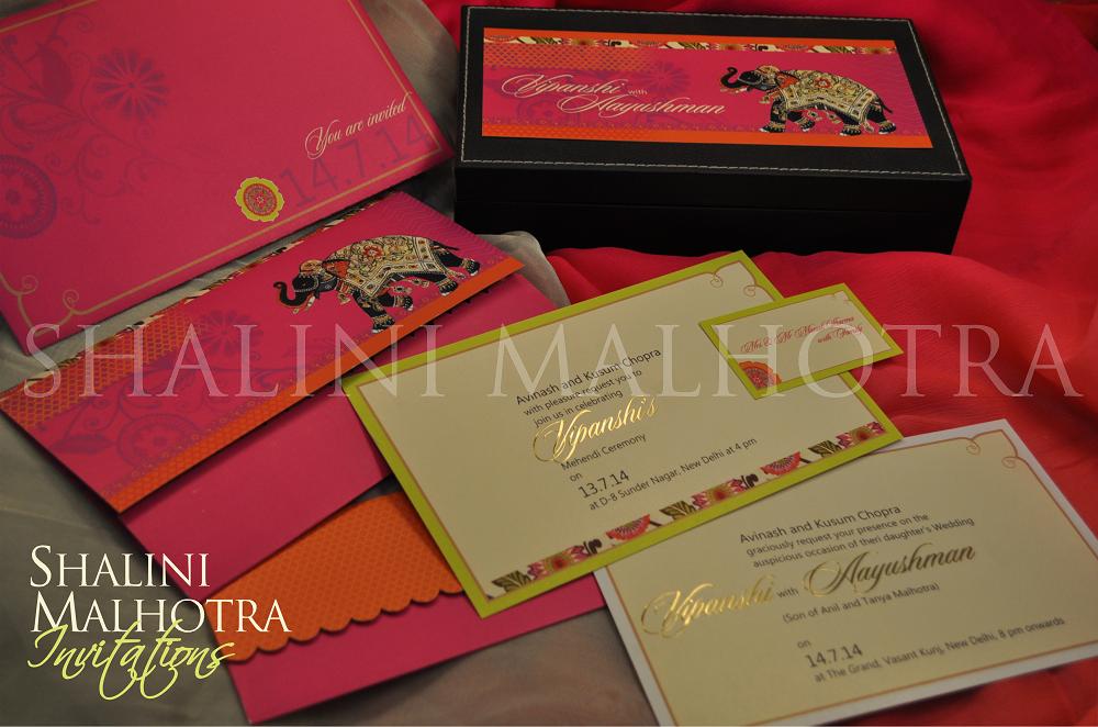 Shalini Malhotra Invitations