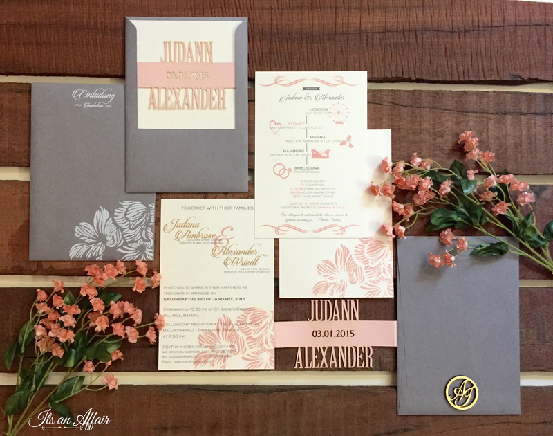 Invitations by Its an Affair