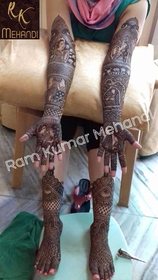 Ram Kumar Mehandi Art
