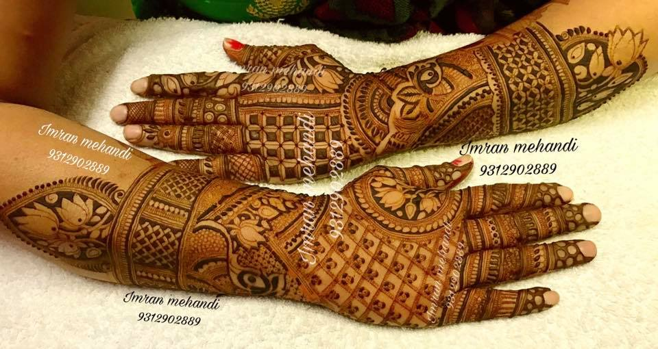 Bridal Mehndi In Jalandhar : Imran mehandi art wedding mehendi artist in delhi ncr