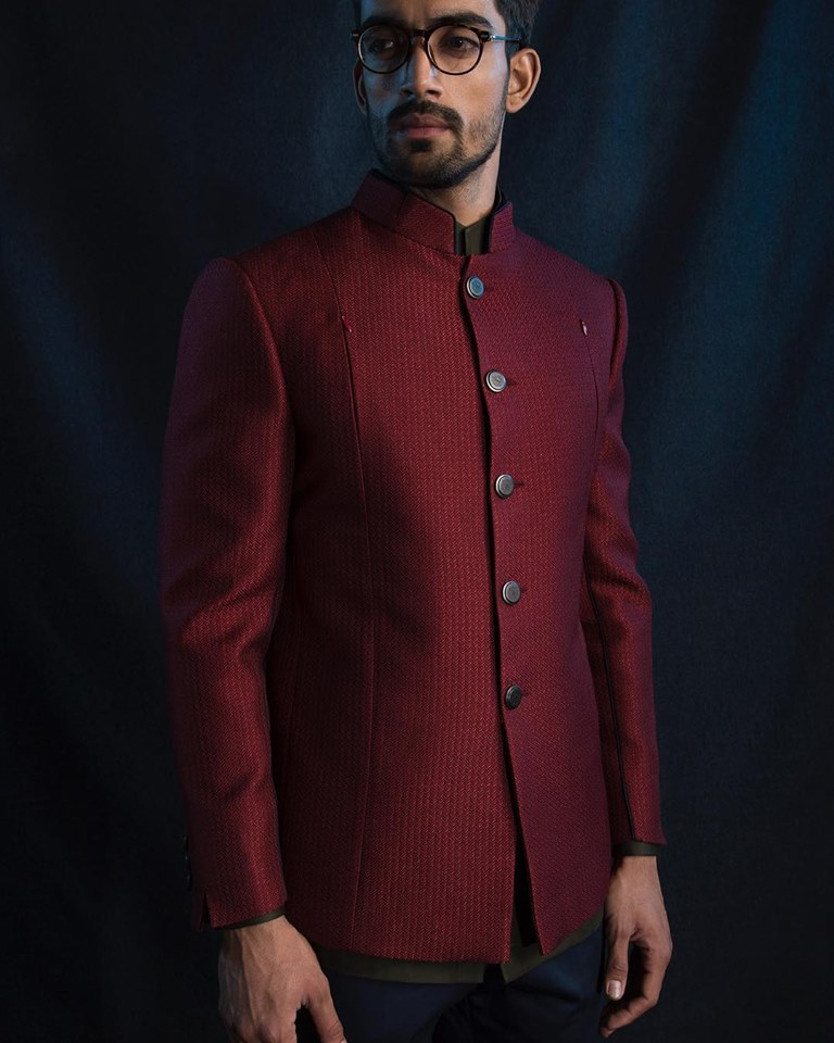 The Maroon Suit