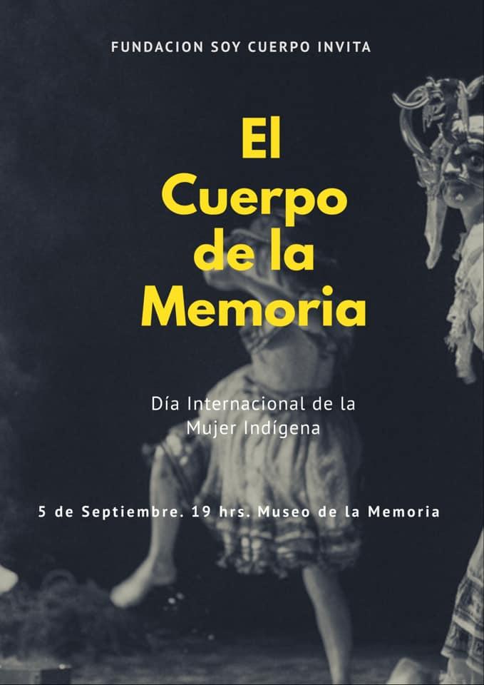 afiche El Cuerpo de la Memoria