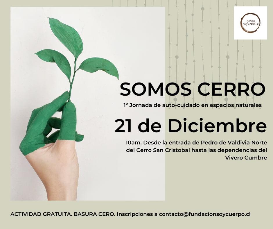 afiche Somos Cerro