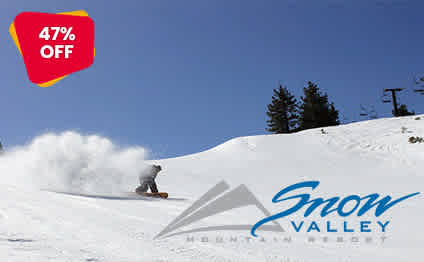 Snow Valley Ski Resort Discounted Tickets