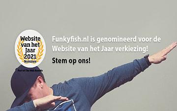 website van het jaar 21, funky fish ©