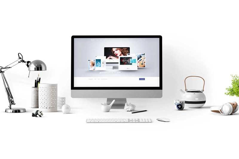 Webdesign for artist