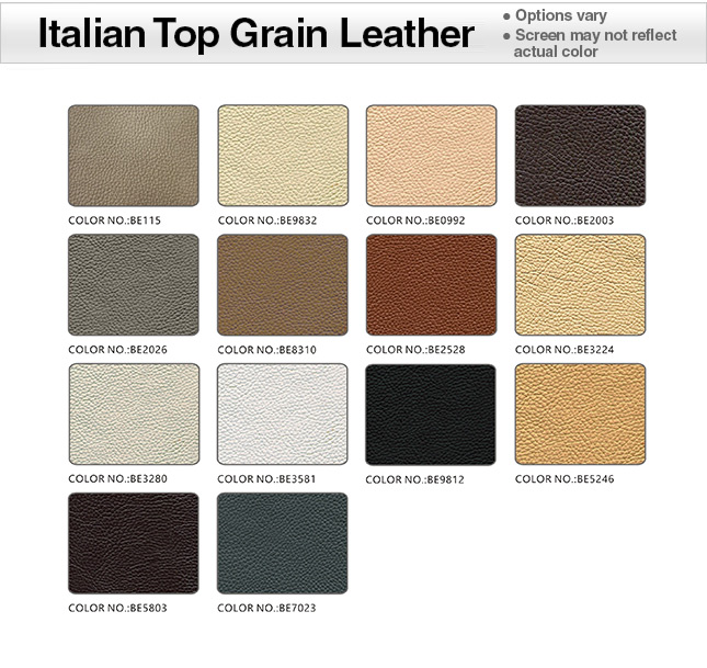Top Grain Italian Leather