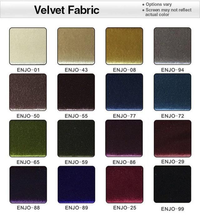 microfiber fabric velour 5