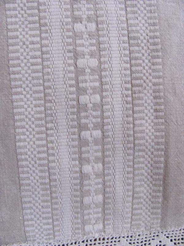 Bawełna jako dodatek do tkaniny lnianej