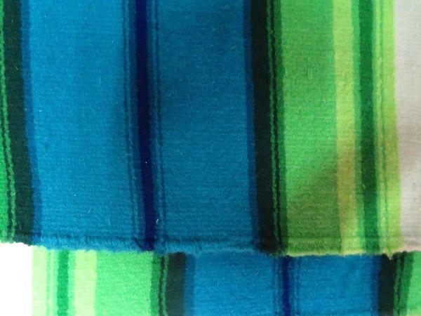 Fragment tkaniny ślubnej, wzimnej tonacji kolorystycznej, Muzeum Archeologiczne iEtnograficzne wŁodzi