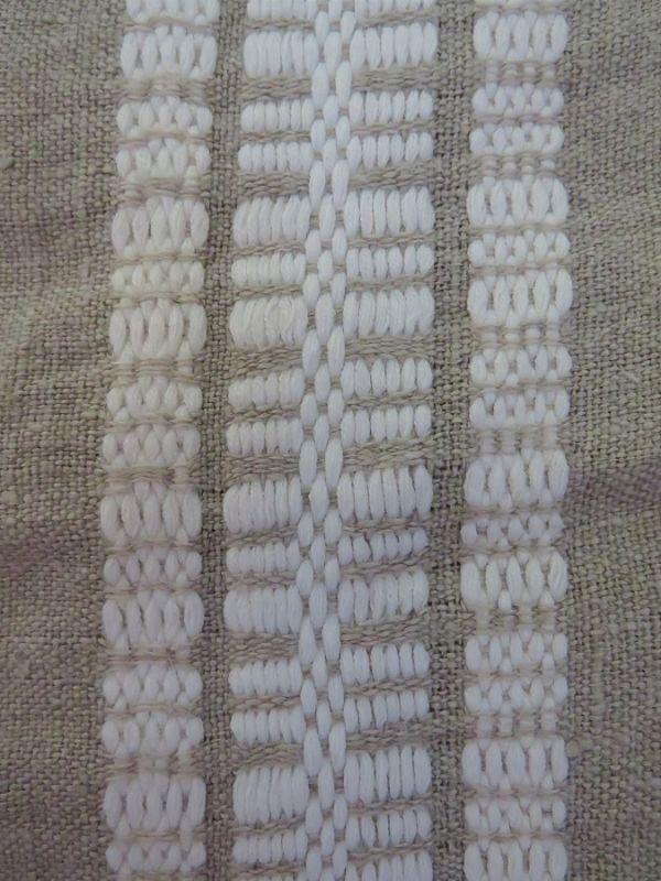 Fragment wzoru wybrany do tkania