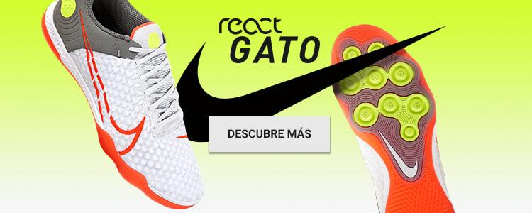 Zapatillas de fútbol sala React Gato