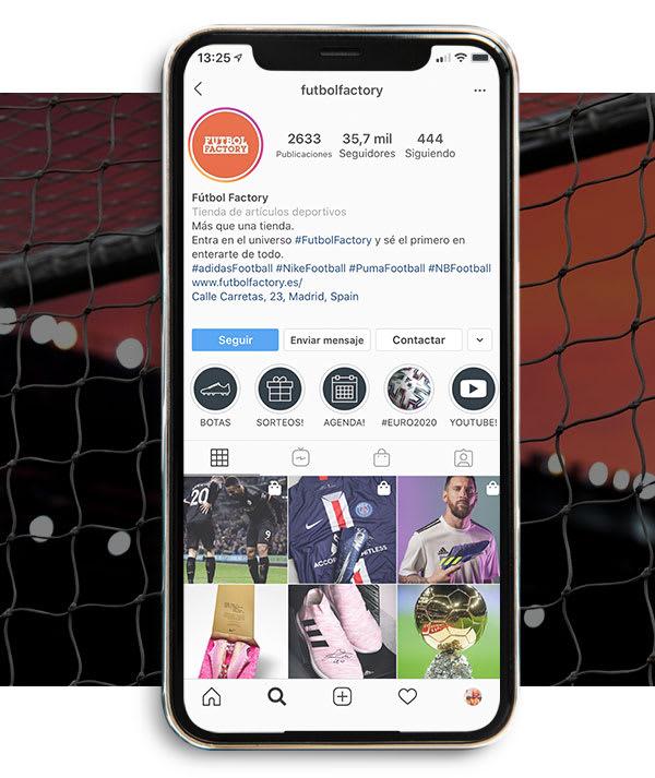 Redes sociales Fútbol Factory