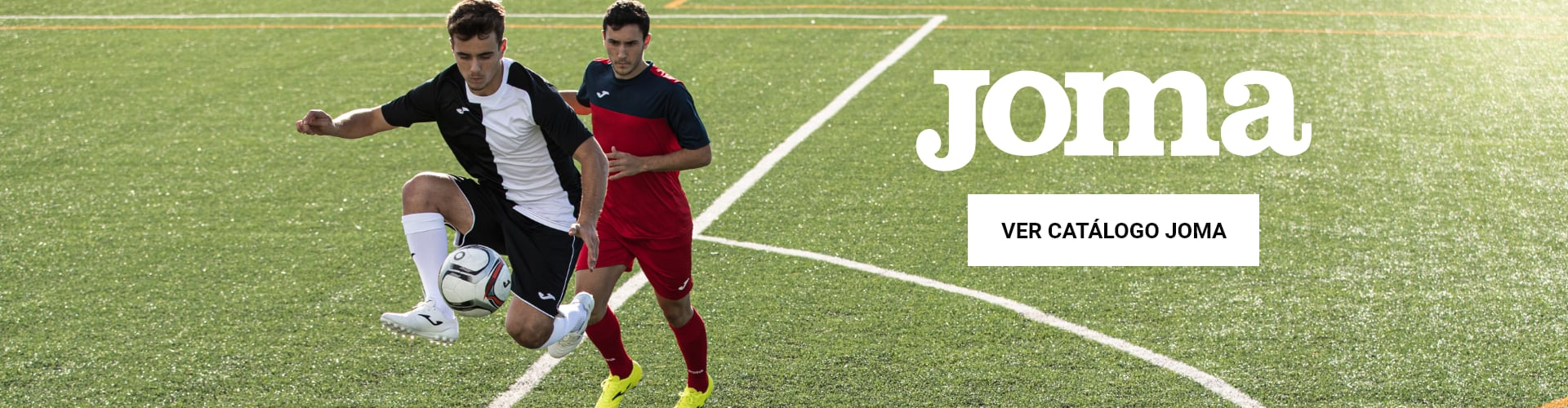 Equipaciones de fútbol Joma