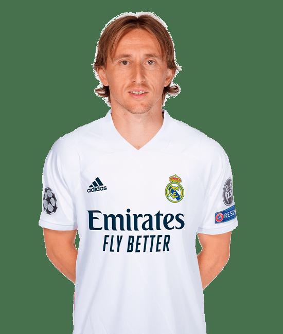 Foto Luka Modric Real Madrid