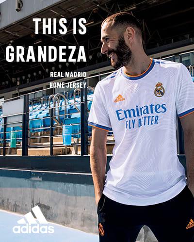 Nueva Camiseta del Real Madrid