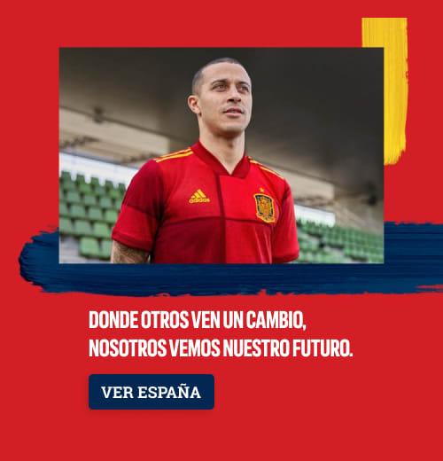 Nueva Camiseta del Selección España