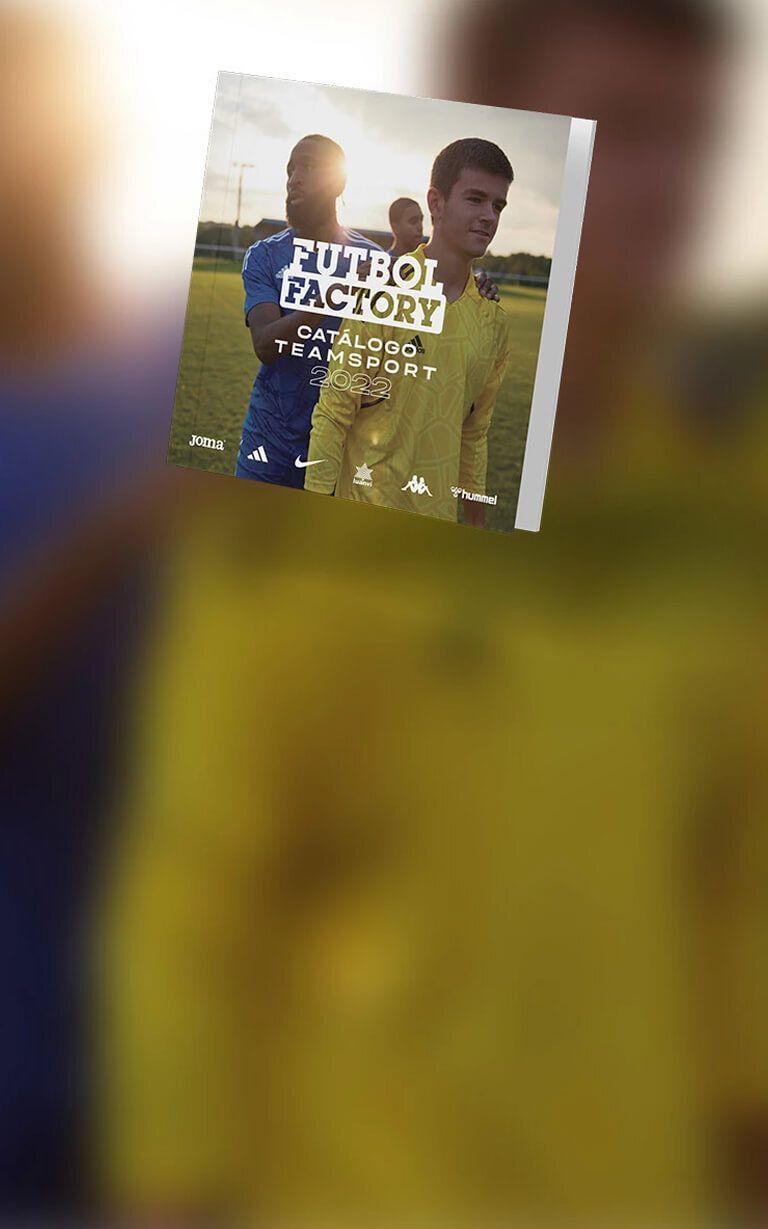 catálogo de equipaciones de fútbol 2022