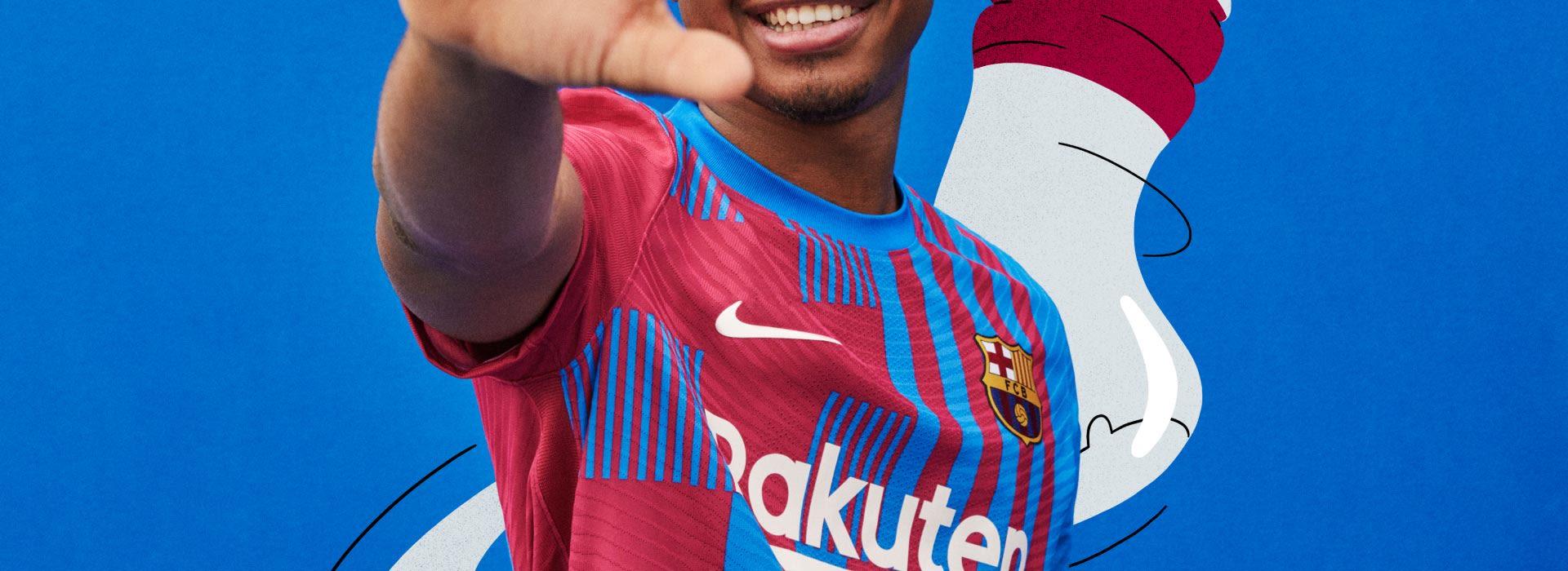 lanzamiento fc barcelona camiseta 21/22