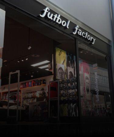 tienda futbol factory parquesur