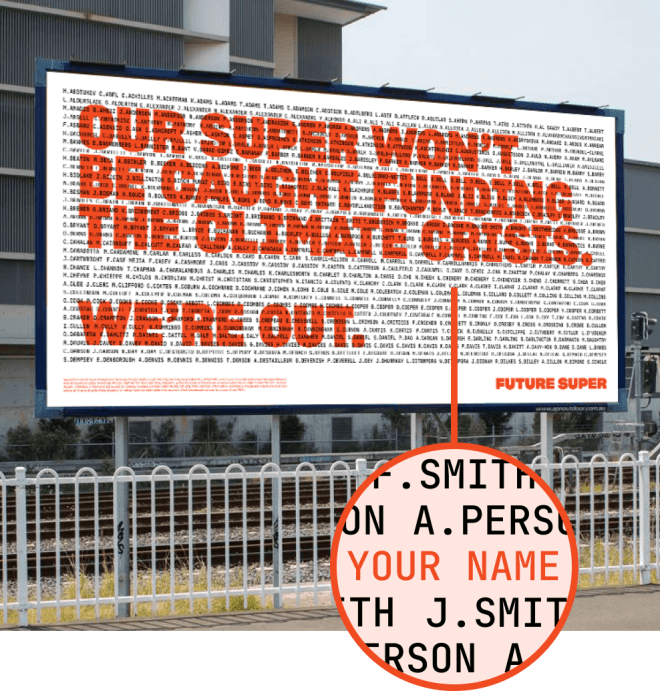 We're Out Billboard
